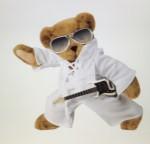 Bertie Meets Toffer - Elvis Presley Bear