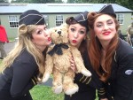 Flying Legends Duxford. Bertie and the Manhattan Dolls.