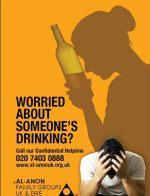 Alcoholic: Al-Anon poster.